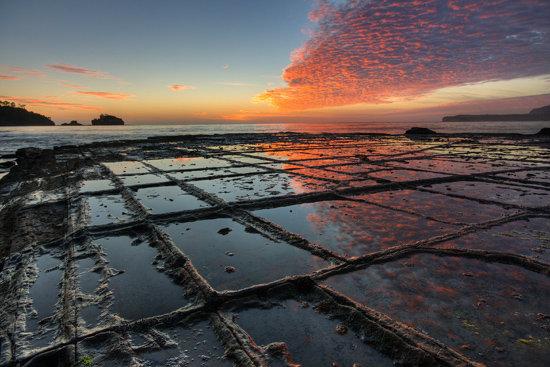 Tessellated Pavement บน เกาะแทสเมเนีย