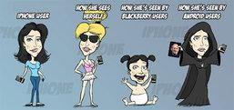 เมื่อผู้ใช้ iPhone vs. Android vs. BlackBerry อะไรจะเกิดขึ้น