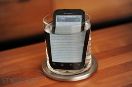 โมโตโรล่า DEFY (Motorola DEFY) ตัวที่โดนถามหามากที่สุดในงาน TME 2011
