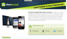 UberSocial พร้อมใช้งานแทน UberTwitter เป็นที่เรียบร้อย