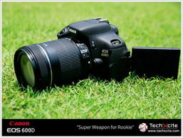 [Full Review]: Canon EOS 600D - Super Weapon for Rookie
