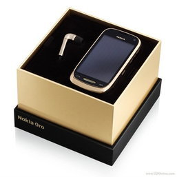 """สุดหรู """"Nokia Oro"""" บอดี้ขอบทอง 18 กะรัต !!"""