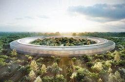 """Apple อัพเกรดต้นแบบ """"ยานแม่"""" สำนักงานแห่งใหม่ด้วยหลังคา Solar Cell"""