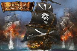 ปืนใหญ่จอมสลัด Pirates 3D Cannon Master สำหรับ iPhone เปิดให้ดาวน์โหลดฟรีแล้ว เวลาจำกัด!!