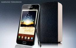 Samsung Galaxy Note สมาร์ตโฟน-แทบเลตหน้าจอ 5.3 นิ้ว