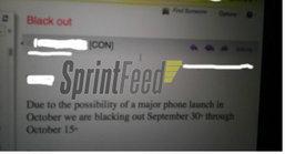 หลุด Sprint ร่อนจดหมายลับแก่พนักงาน