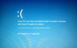 BSoD หรือ จอฟ้ามรณะแรกบน Windows 8 โผล่แล้ว, แนวใหม่ น่ารักกว่าเดิม