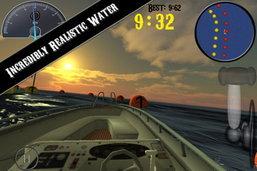 Appfree!! ซิ่งเรือบนผืนน้ำสุดมันส์กับ iBoat Racer แจกฟรีบน iPhone