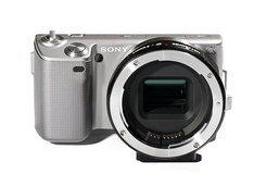 อแดปเตอร์สำหรับกล้อง Sony NEX เอาไว้ใช้กับเลนส์ Canon แบบปรับรูรับแสงได้