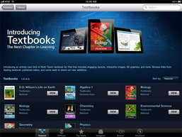 Apple เปิดตัวแอพ iBooks เวอร์ชั่น 2.0 พลิกโฉมหนังสือเรียนแบบใหม่ด้วย Interactive Textbooks ในปี 2012