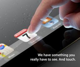 สิ้นสุดการรอค่อย Apple ร่อนหมายเชิญสื่อร่วมงานเปิดตัว iPad 3 แล้ว