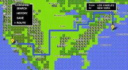 Google Maps 8-bit สำหรับเครื่อง NES? (+video)