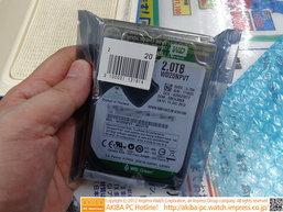 WD Green ฮาร์ดดิสก์ 2.5 นิ้วขนาด 2TB จุได้สะใจ ออกวางขายแล้ว