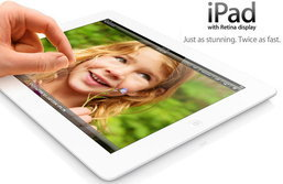 iPad 4 เปิดตัวแล้ว สรุปสเปค และราคา iPad 4 ล่าสุด