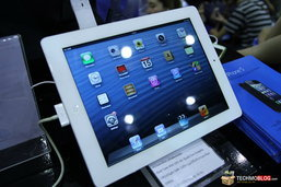 iPad mini และ iPad 4 ยังไม่มีจำหน่ายในงาน [Commart Comtech 2012]