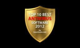 10 สุดยอดโปรแกรม AntiVirus ปี 2012