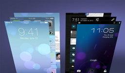 ฟีเจอร์บน iOS 7 ลอกฟีเจอร์ อะไรบน Android ไปบ้าง ??