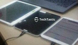 ภาพหลุด Samsung Galaxy Tab 3 (8.0) หน้าจอ 8 นิ้ว ตัวเครื่องดำ ขอบขาว