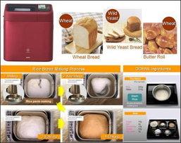เครื่องทำขนมปังจากข้าวเครื่องแรกของโลก!!