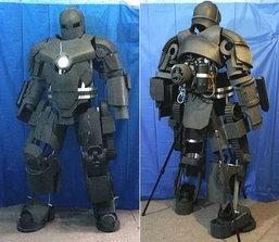 หนุ่มจีนซุ่มทำชุด Iron Man Mark 1