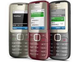 Nokia C2-00 โทรศัพท์มือถือ 2 ซิมที่ให้คุณสลับซิมง่าย…ได้ดั่งใจ