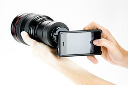 ติดเลนส์ DSLR ให้ไอโฟน