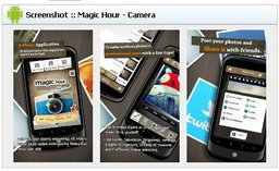 App Protography (แอพฯตกแต่งภาพ) Android :  Magic Hour - Camera