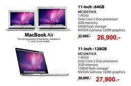 Apple MacBook Air 2010 ราคาถูกพิเศษ!!!