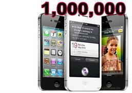 ปรากฎการณ์ ใหม่ 24 ชั่วโมงยอดจอง iPhone 4S ทะลุหลักล้าน