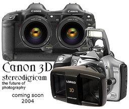 ข่าวลือหรือมั่วนิ่มเมื่อ Canon จะเดินสายพานผลิตกล้อง 3D