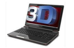 Toshiba Qosmio F755 ที่มาพร้อมจอ 3D แบบไม่ต้องใช้แว่น