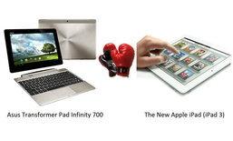 เปรียบเทียบ New iPad กับแท็บเล็ต Android รุ่นเทพ แบบ 3 รุม 1 มาดูว่าจะรอดหรือไม่!