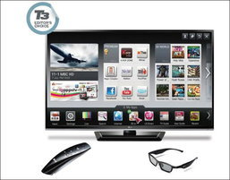 LG PM4700 3D PLASMA TV ฟังก์ชัน Smart TV เพื่อชีวิตออนไลน์สมบูรณ์แบบ
