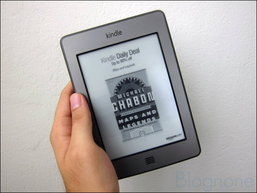 รีวิว Amazon Kindle Touch เครื่องอ่านอีบุ๊กจอสัมผัส