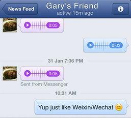 แม้แต่ Facebook ยังสร้าง Voice Chats เหมือน WeChat?