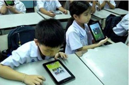 ลือ..ผู้ผลิตในจีนเดินเครื่องผลิตแท็บเล็ต 900.000 เครื่องสำหรับเด็กไทย