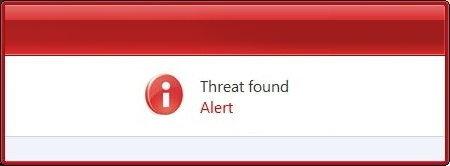threat found