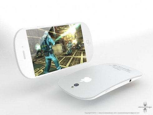 ดีไซด์ใหม่ iPhone 5 โค้งมน ทรงหยดน้ำ