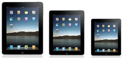 iPad มินิ กับจอแสดงผลที่บางเฉียบ เริ่มต้น 7000-9000 บาท