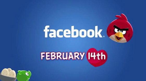 Angry Birds เจอกันแน่บน Facebook ใน14 กุมภาพันธ์นี้