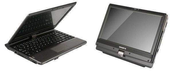 Gigabyteแท็บเล็ตไฮบริด Booktop T1132 ลงตลาดเร็วๆนี้