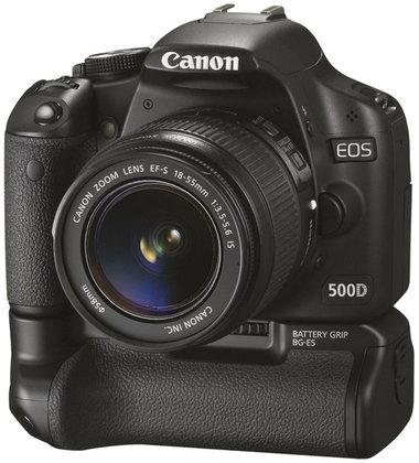 Canon EOS 500D  พัฒนาต่อเนื่องจากรุ่น 450D