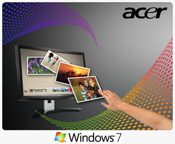 Acer LCD Multi Touch Screen