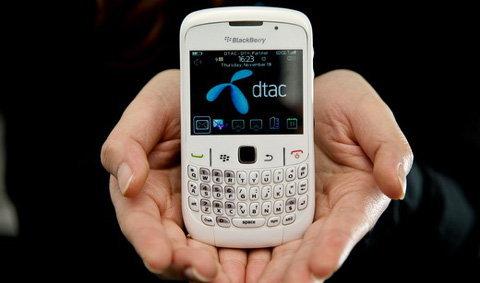 DTAC ได้ฤกษ์เปิดตัว BlackBerry (สักที)