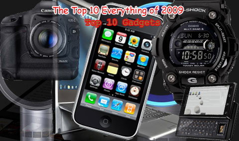 Time ประกาศ Top 10 Gadgets of 2009