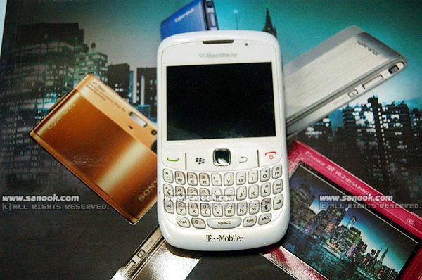 BlackBerry Curve 8520 สีขาวราคาสบายกระเป๋า