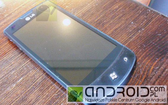 คลอดออกมาอีกแล้วกับ LG E900 Windows Mobile 7
