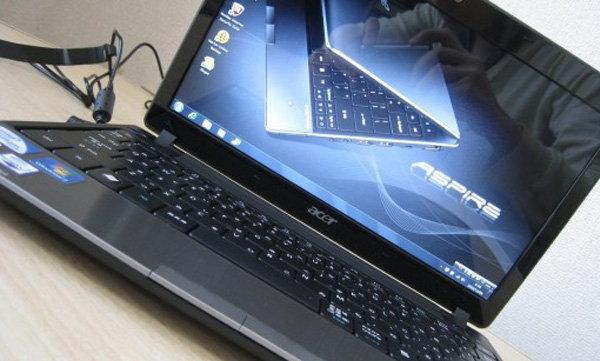 แกะกล่อง Acer Aspire 1830Z เครื่องบางเบาพร้อม WiMAX