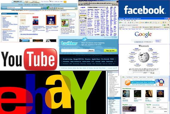 10 อันดับ Website ที่เปลี่ยนแปลงโลก