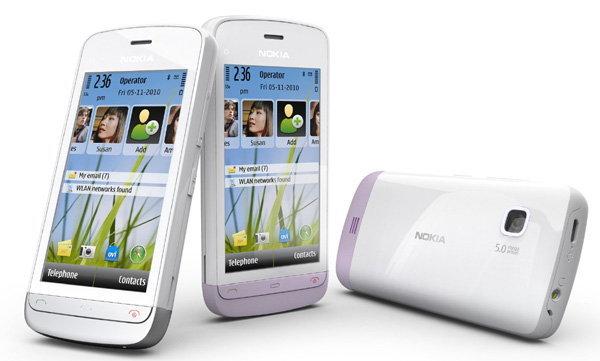โนเกียเปิดตัว Nokia C5-03